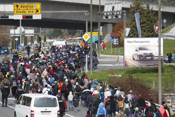 Austria Slovenia Migrants