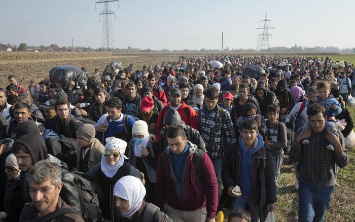 Migranti: Slovenia, stamani oltre 4.000 ai confini