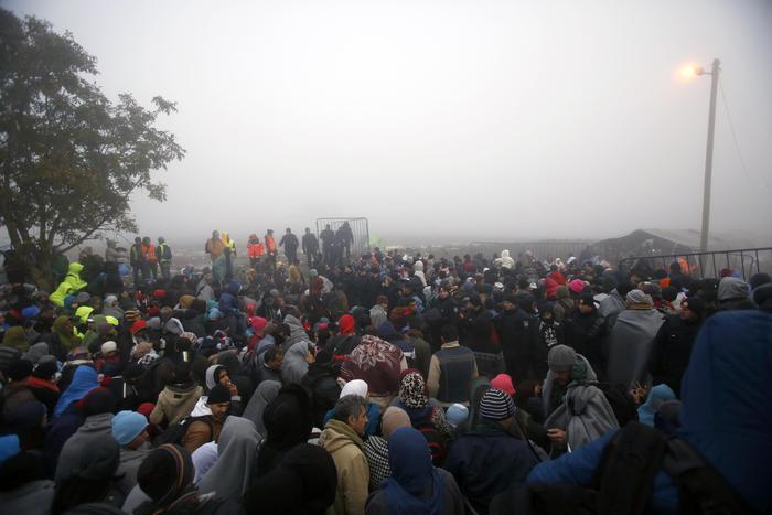 Croatia Migrants