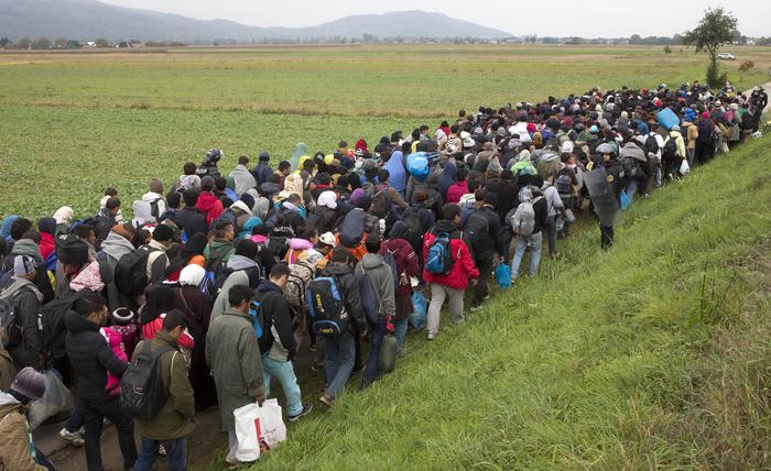Slovenia Migrants