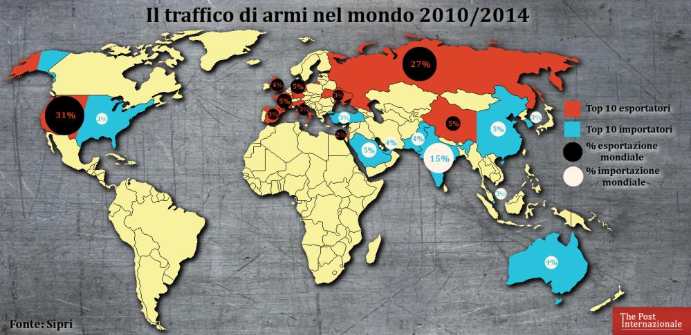 mappa-traffico-armi-nel-mondo
