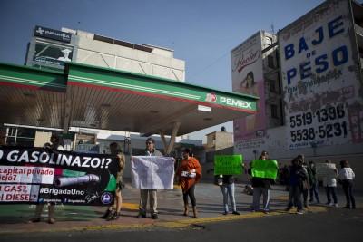 messico-benzina-proteste-2 AP