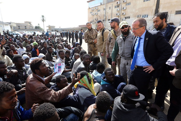 TOPSHOT-LIBYA-MIGRANT-CONFLICT