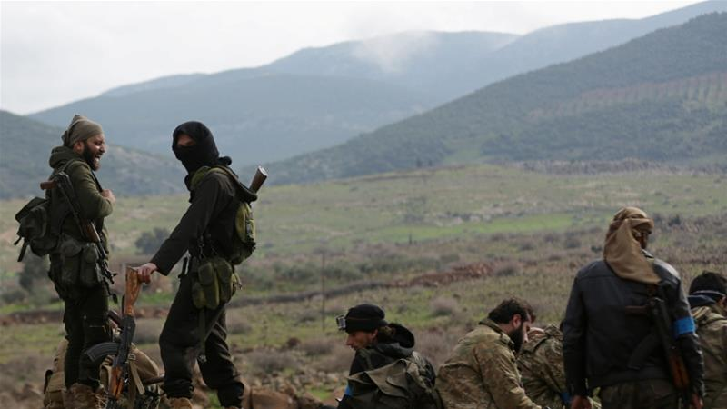 Turkey and the Free Syrian Army last month launched an operation into Afrin to 'neutralise' Kurdish fighters_Reuters