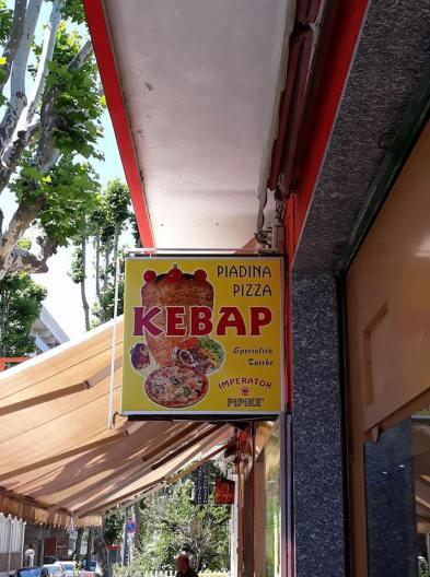 pizza piadina kebap