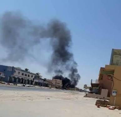 Scontri a Khalit Al-Furjan nel sud di Tripoli Foto Social Media