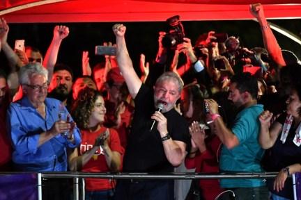 BRAZIL-CORRUPTION-LULA-PROTEST