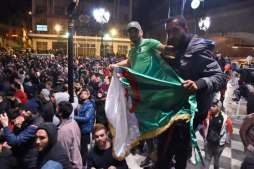 ALGERIA-POLITICS-VOTE-ELECTION-DEMO