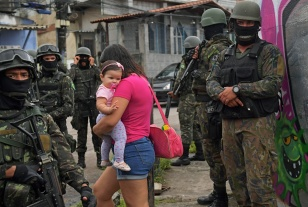 BRAZIL-SECURITY-ARMED FORCES-FAVELA
