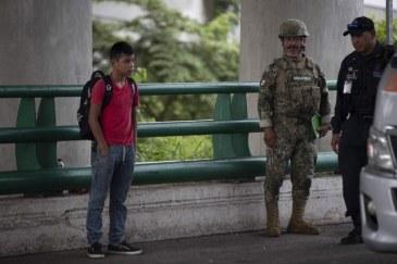 Il consolato del Guatemala difende i migranti che sono stati detenuti dal territorio messicano_Foto Alfredo Domínguez _Archivio