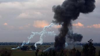 L'attacco è stato il terzo a colpire un ospedale a sud della capitale _Mahmud Turkia _AFP