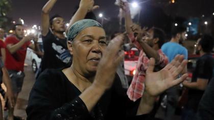 3_Proteste anti-governative come questa al Cairo sono state rare da quando El-Sisi è salito al potere nel 2013 _Mohamed Abd El Ghany_Reuters