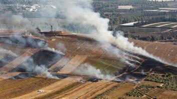 Israele e Hezbollah si sono scambiati il fuoco lungo il confine libanese dopo una settimana di crescenti tensioni _Aziz Taher _Reuters