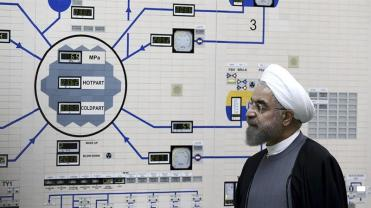Rouhani ha concesso ai partner europei per un accordo nucleare due mesi per girare le vendite petrolifere bloccate dagli Stati Uniti_ Mohammad Berno_AP