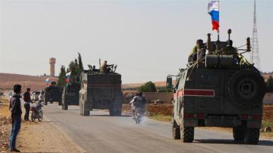 Mosca ha avvertito le forze curde che sarebbero state schiacciate dalle forze turche se non si ritirassero_AFP