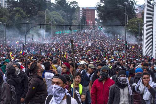 Nelle proteste contro Lenin Moreno_settori urbani_ contadini e indigeni hanno coinciso_FOTO DI FLUXUS