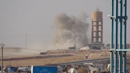 Il 23 novembre 2019 si sono svolti pesanti combattimenti tra gruppi sostenuti dalla Turchia e le forze democratiche siriane _SDF_Foto_Agenzia di stampa Hawar