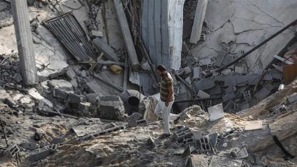 L'Egitto e la Jihad islamica hanno riferito giovedì che è stato raggiunto un cessate il fuoco a Gaza [Ali Jadallah _ Anadolu
