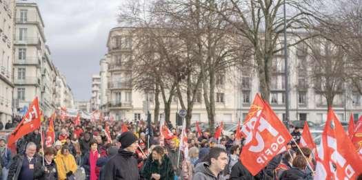 Manifestation du 5 décembre contre la reforme des retraites, Brest