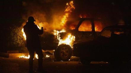 Le dimostrazioni sono diventate più violente negli ultimi giorni nella capitale del Libano_Sam Tarling _ Getty Images