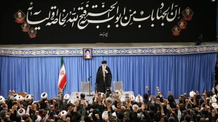 L'ayatollah supremo iraniano Ayatollah Ali Khamenei si rivolge al pubblico a Teheran l'8 gennaio 2020_AFP del leader supremo iraniano