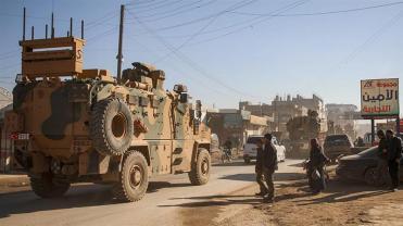 Le morti sono arrivate il giorno dopo che un grande convoglio militare turco si è trasferito in Idlib_Aaref Watad_AFP