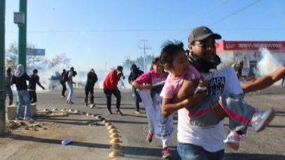 mexico_chiapas_represion_I genitori degli studenti normalisti hanno iniziato la Carovana in Chiapas alla ricerca del 43_ Foto tlachinollan