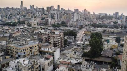 Una vista su Beirut dal quartiere di Bourj Hammoud_un'area utilizzata dalle donne costrette alla prostituzione e ai magnaccia e ai trafficanti che le controllano_Daniela Sala _Al Jazeera