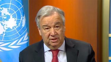 Antonio Guterres ha esortato il Consiglio di sicurezza delle Nazioni Unite a unirsi per affrontare la pandemia di coronavirus _vita diurna