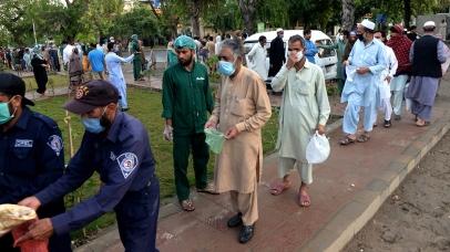 Ramadan nel mezzo di un blocco del coronavirus nella provincia del Punjab _Sohail Shahzad _EPA