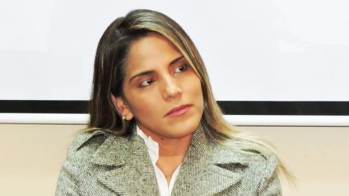 Carolina Ribera Áñez, capo dell'Unità di gestione sociale del Ministero della Presidenza. MENDOZAPOST.COM