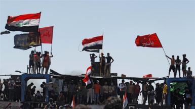 Centinaia di manifestanti sono stati uccisi dall'inizio delle proteste nell'ottobre dello scorso anno_Khalid al-Mousily_ Reuters