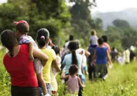 desplazamiento-ed_I gruppi armati di Antioquia hanno spostato 70 famiglie indigene dalla loro riserva_Foto di riferimento del file