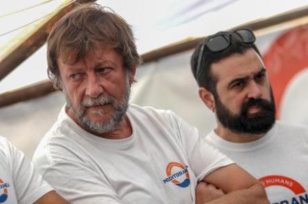 Luca Casarini_ capo missione Mediterranea Saving Humans