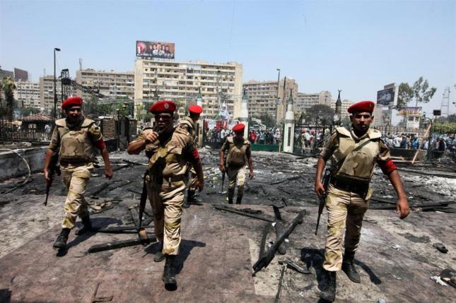 Militari dell'esercito egiziano in una foto di archivio