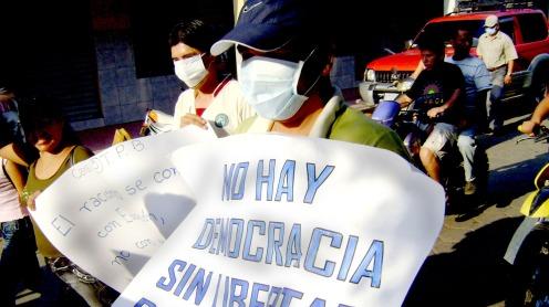 Un'immagine di file mostra i giornalisti che marciano in difesa della libertà di espressione_ Credito_ archivio ANP