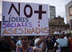 85 leader sociali vengono aggiunti all'elenco dei morti finora nel 2020 in Colombia._Foto_EFE