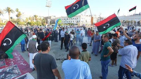 Dal 2015_ una lotta di potere ha contrapposto il GNA di Tripoli contro il comandante dell'LNA Haftar_che rivendica la legittimità di un parlamento eletto con base a est_Hazem Turkia_Anadolu