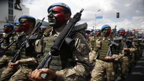 La Turchia ha giustificato il dispiegamento di commandos a causa di una recente impennata di attacchi nei pressi del confine iracheno_Lefteris Pitarakis _AP