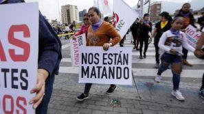 Più di 200 leader sociali sono stati assassinati in Colombia nel 2020 _ Foto_ EFE