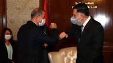 Durante l'incontro_Akar ha ribadito il sostegno della Turchia al popolo libico per garantire che vivano _in modo più confortevole_ più felice e più sicuro_Anadolu