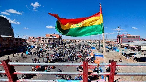 La legge per fissare la data delle elezioni potrebbe porre fine alle mobilitazioni in Bolivia_ Foto EFE